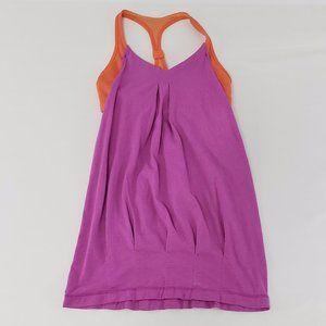 LULULEMON purple and orange workout top